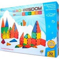 Магнитный конструктор Mag Wisdom 3D 32