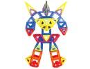 робот из магнитного конструктора