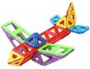 самолет из магнитного конструктора