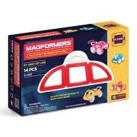 Магнитный конструктор Magformers My First Buggy Car Set - Red
